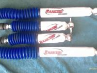 Gas Charged Rancho RS5000 series shocks barely used and