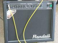 Fresh trade in! Randall RG50TC 50 watt all tube combo