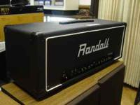Randall RG-100 Amp Head for sale. Almost new...great