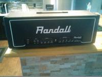 Im selling a Randall RG-100 Classic. works perfect,