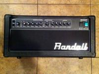 Up for trade is my Randall RH50t head. It is 50 watts,