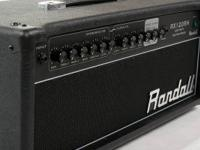 Randall RX120D Half Stack: This amp is in Almost New