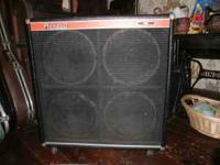 RANDALL SPEAKER CABINET R-412S GOOD CONDITION $300.00