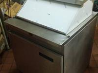 Used Randell reach in cooler. It haS a brand new top on