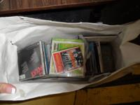 Random bag of CD's.  Had a rummage sale months ago and
