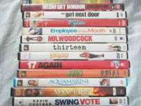 I have all kinds of DVDs for sale $4.00 each or all for