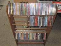 you get all these cds as well as the wooden rack