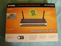 D-Link Range Booster N Wireless Router w/2 Antennas.