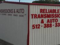 Reliable Transmissions specialize in the transmissions