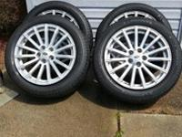 4 size 19 Range Rover rims and tire in excellent like