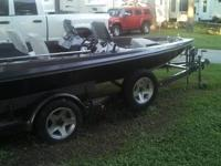 Buy this 17-feet 1984 Ranger Bass boat with 150