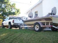 ranger boat 17 ft and dodge 4x4 pick up truck to pull