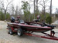 This is a garage kept 1994 Ranger with a 2012 Evinrude