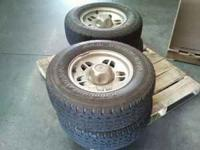 I have 4 Ford Ranger Tires & wheels w/ caps & nuts. 3