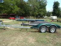 Late model Ranger boat trailer. Tires are new all the