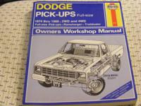 Repair Manuals: 1 Chilton's RM for Chevy S-10, GMC