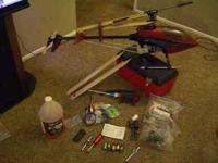 I'm selling my raptor 30 nitro helicopter. This