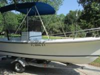 RARE--REBUILT SHAMROCK 170 OPEN FISHERMAN. MANY NEW