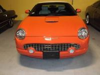 With only 2,000 miles this 2003 Ford Thunderbird is