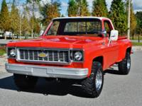 Outstanding 1974 Chevrolet C-20 StepSide 4x4 This