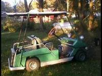 Have a 1975 Cushman Golfcart for sale that runs/drives