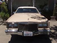 Rare (1 of 20) 1981 Cadillac Eldorado Hess and