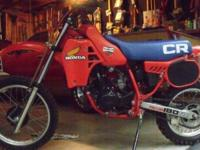 (RARE) 1983 CR80 HONDA DIRT-BIKE, IN GREAT CONDITION,