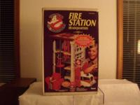 (RARE) 1984 THE REAL GHOSTBUSTERS FIRE STATION