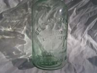 Rare 19th Century Bottle. BEAR LITHIA WATER, ELKTON VA.