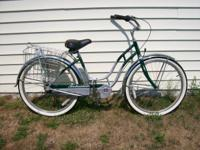 Schwinn Cruiser 4. Like New cruiser bike, was used two