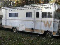 I have a 1973 Winnebago Cheiftan It runs & drives but