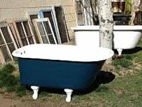 I have 2 recovered vintage clawfoot bath tubs