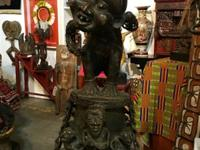 Rare African Ancestral Protective Bronze On Sale
