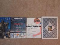 I have 4 art books from 90's, gundam,dbz,meganix,police