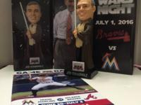 ATLANTA BRAVES STAR WARS NIGHT EXCLUSIVE JEDI MASTER