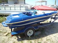 This is a super rare Baja Splash jet boat! The 120hp