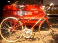 cool rare accordio good paint no rust bike mechanics'