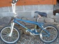 I am selling a Columbia BMX bike. This is in good