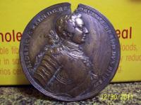 This rare historical coin/medal commemorates the
