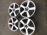 "For Sale a set of 4 20"" Volvo Cratus Wheels Part #"