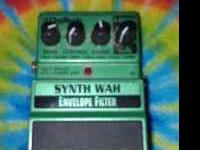 $75.00 (No longer on the market) Digitech Synth Wah