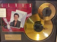 i have a RARE 24kt GOLD plated records of ELVIS PRESLEY