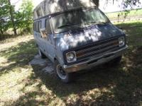 I HAVE ANNICE DODGE CAMPER VAN IT HAS AN 318 V8 MOTOR
