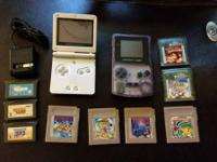 Wonderful condition Game Boy Color & Game Boy Advance