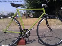 For sale a very rare German Volkscycle Fixie in better