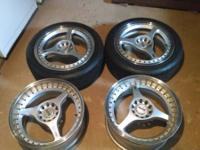 Uncommon jdm eneki rs3's. 17's. Bolt pattern 5x114