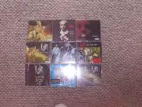 nine cds all together, imports from australia, great