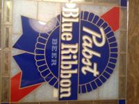 Up for sale is a rare two-sided, light up camper sign,