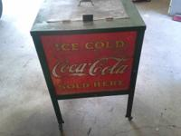 Moss coolers are exceptionally rare as Coke chose