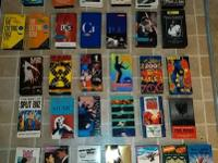 I have some rare 80s music VHS cassettes (live and